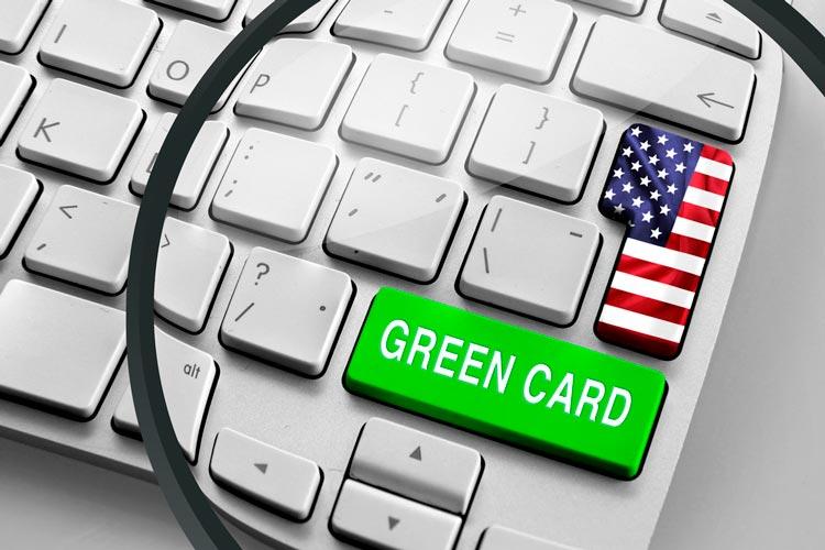 Сайт Green Card