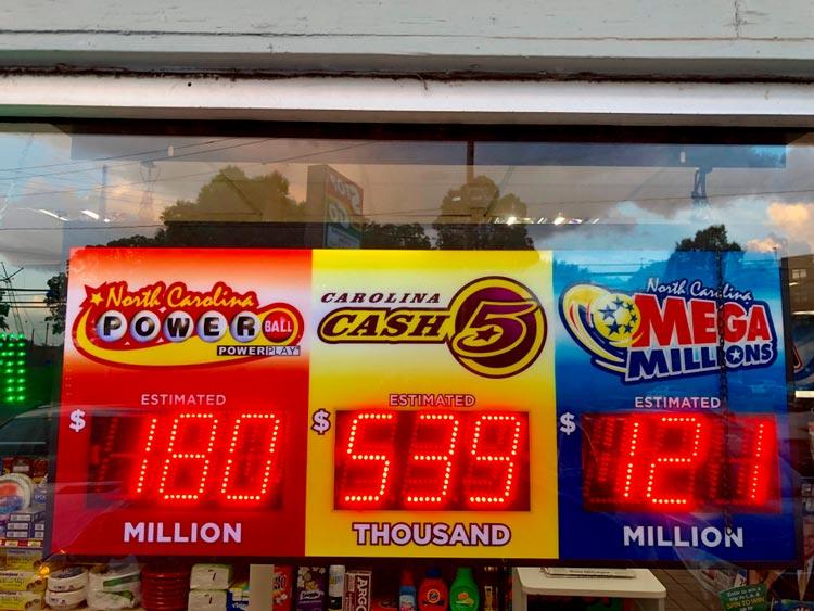 результаты лотерея мега миллион