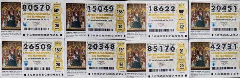 результаты испанских лотерей