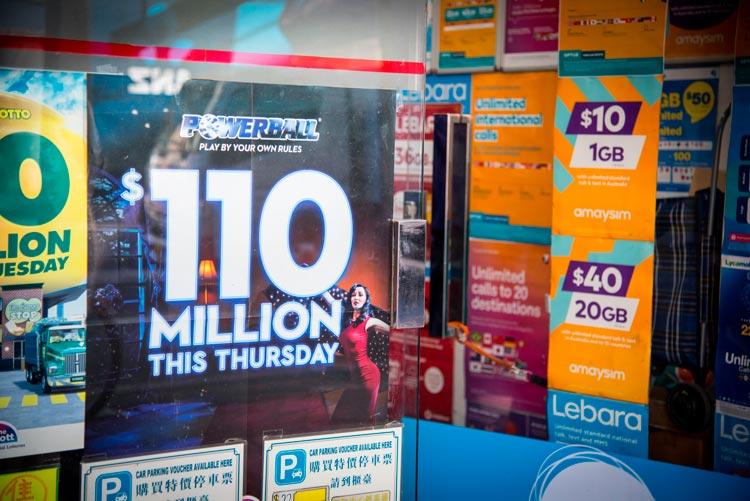 как играть в австралийские лотереи