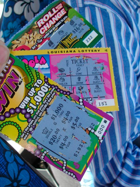 Скретч-карты в американских лотереях