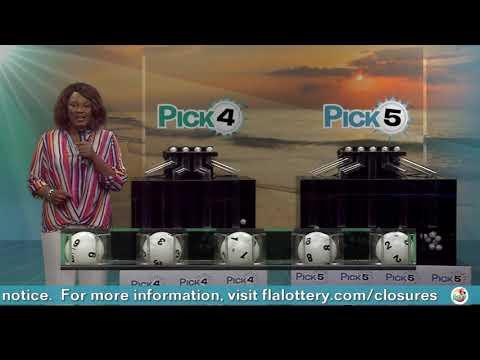 Видео Pick Evening 20200602 c канала Florida Lottery