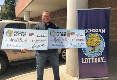 Марк Кларк победитель в лотерею
