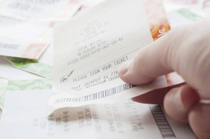 Поддельные билеты в лотерею