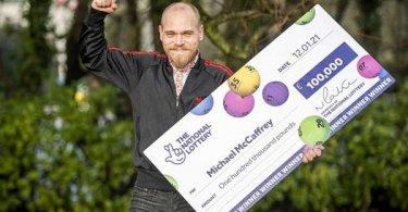 Победитель лотереи, получивший огромный приз, собирается очень скромно распорядиться выигрышем