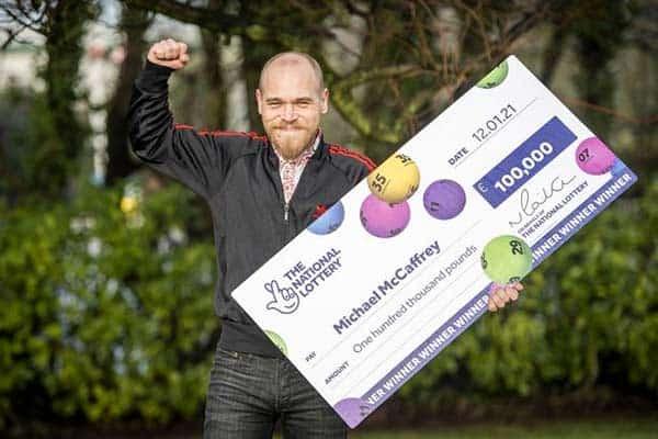 победитель огромного приза в лотерею